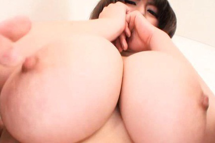 Marie momoka. Marie Momoka Asian has huge boobs undressed and fondled by hunk