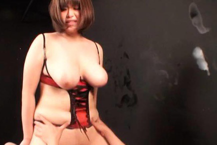 Marie momoka. Marie Momoka Asian chubby with nude great cans is pumped a lot