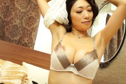 Reiko kobayakawa. Reiko Kobayakawa Asian exposes big hooters with naughty nipples