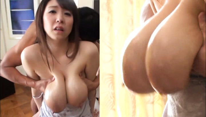 Mio sakuragi. Mio Sakuragi has huge assets touched a lot and oiled by fellow