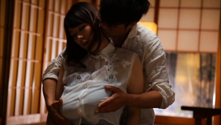 Mio sakuragi. Mio Sakuragi Asian has huge tits touched over blouse and revealed
