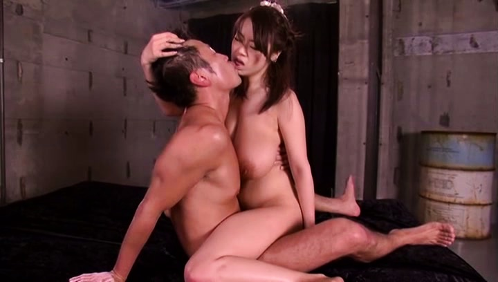 Riai sakuragi. Riai Sakuragi Asian with huge assets rides boner and gets doggy